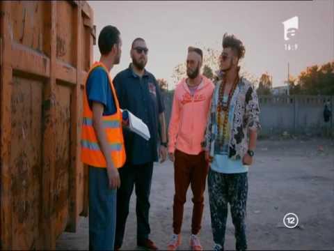 Roby Roberto și prietenii caută disperați biletul câștigător la ghenă, Baieti de oras