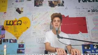 |#PrayforNice| Amazing Grace (Cover by Luca Valenti)