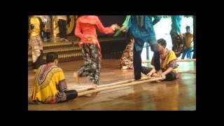 (48) SHOW - DANCA TIPICA TAILANDESA - TAILANDIA - By www.UmaEsposaExpatriada.blogspot.com