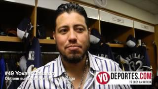 Yovani Gallardo alcanza su séptimo triunfo ante Chicago Cubs