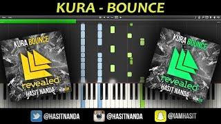 KURA - Bounce (Piano Tutorial)