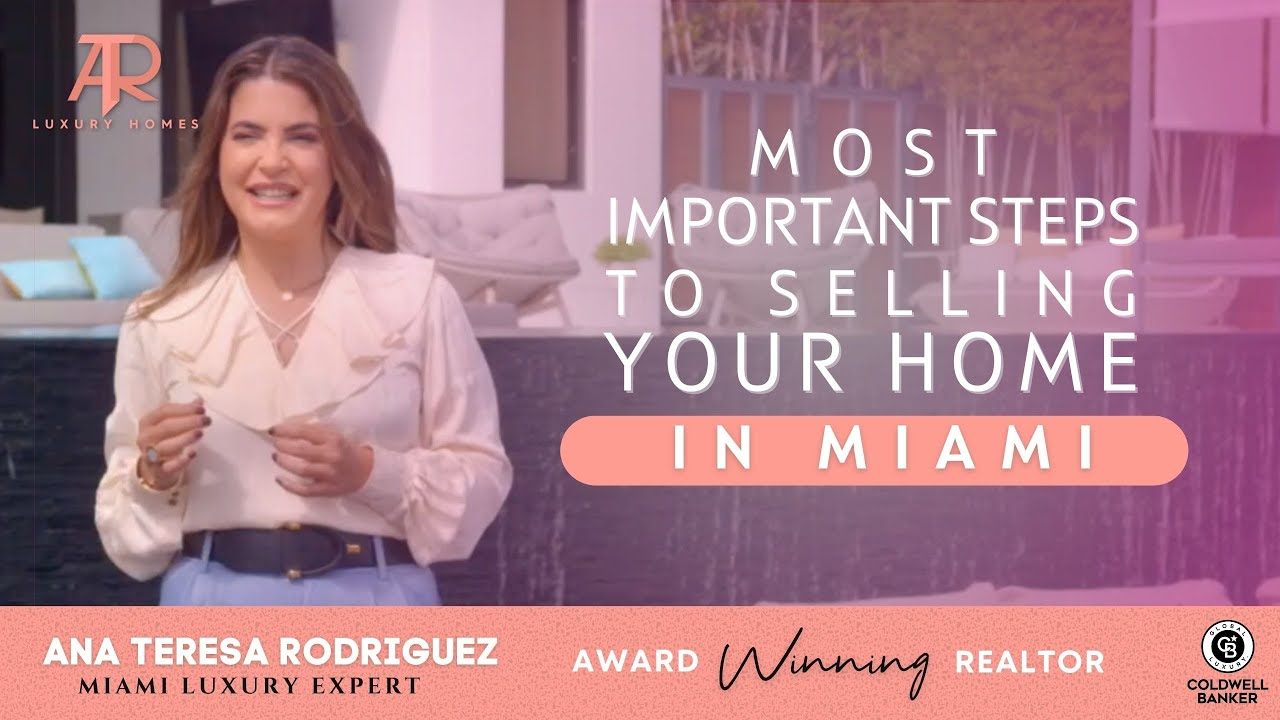 Most important steps for selling your home in #Miami