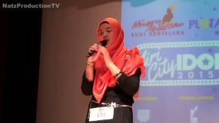 Nur Syuhada - Almost Is Never Enough - Miri City Idol 2015 (Top 5 Junior)