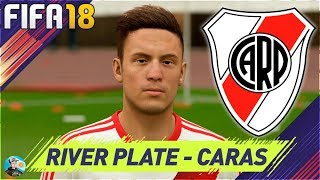 FIFA 18 River Plate Caras / Faces