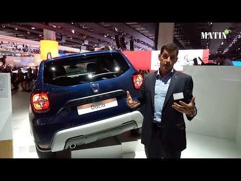 Le nouveau Dacia Duster dévoilé au Salon automobile de Francfort