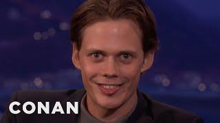 """Bill Skarsgård's Demonic """"IT"""" Smile  - CONAN on TBS"""