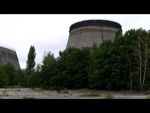 Chernobyl: CNPP Cooling Towers 5 & 6 – Approaching