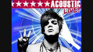 Adam Lambert Music Again Acoustic