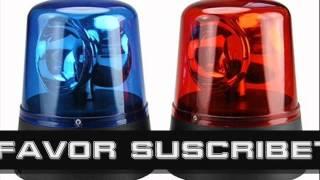 Efecto de sonido sirena policia