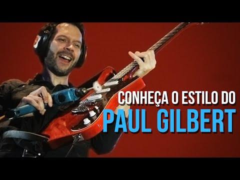 COMO TOCAR GUITARRA NO ESTILO PAUL GILBERT