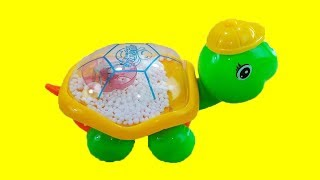 The Lightning Turtle Toy - Alien Attacks Turtle - The Mega Fight