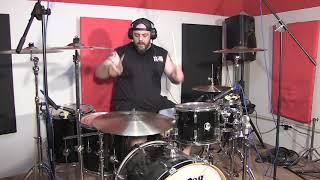 "William V. Baldo ""LINKIN PARK - What I've done"" drum cover video"