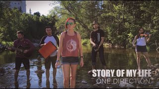 One Direction - Story of My Life (Weekend Celebrity cover)