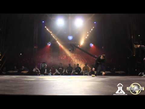 Lhiba KingZoo vs Team BBF // .BBoy World // BREAKING 2on2 SEMI-FINAL | CHELLES BATTLE PRO 2013