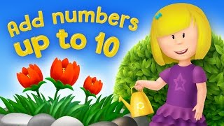 Adding numbers | Add numbers up to 10 for kids