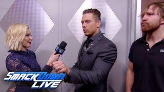 Dean Ambrose executes a sneak attacks on The Miz: SmackDown LIVE Wild Card Finals, Dec. 27, 2016