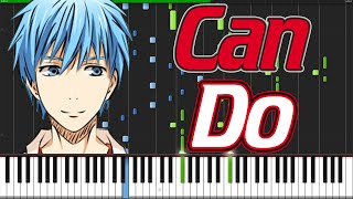 Can Do - Kuroko no Basuke OP [Piano Tutorial] (Synthesia) // TheIshter