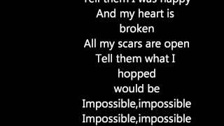 James Arthur IMPOSSIBLE Lycris
