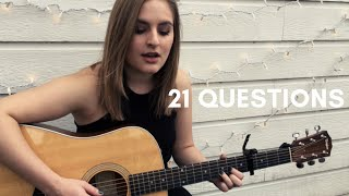 Darbi Shaun-- 21 Questions (Waterparks Cover)