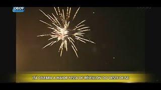 Itá celebra a maior festa de Réveillon do Oeste de Santa Catarina