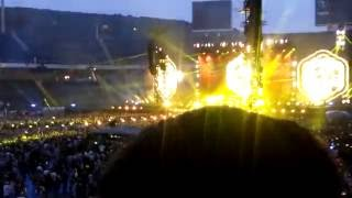 Coldplay - Yellow live @ Barcelona- A head full of dreams tour -26 May 2016