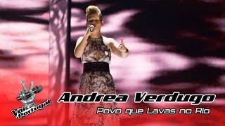 Andrea Verdugo - Povo que Lavas no Rio (Amália Rodrigues) | Gala | The Voice Portugal