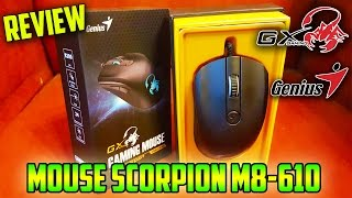 "[REVIEW] ""Mouse Genius GX Gaming SCORPION M8-610"""
