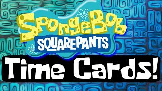 SpongeBob SquarePants Time Cards!