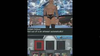 WWE SVR 2010 DS Randy Orton Entrance and Finisher