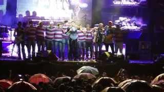 Gabriel Diniz homenageia Cristiano Araújo em show   Goiana/PE - 24/06/15