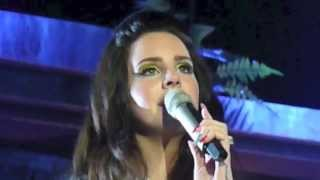Lana Del Rey - Young and Beautiful (for the first time ever live) Live in Luxembourg - 30.4.2013