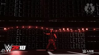 WWE 2K18 - Woken Matt Hardy Entrance With New Theme Song