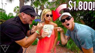 $1800 Father vs Son Mini Golf Money Challenge!