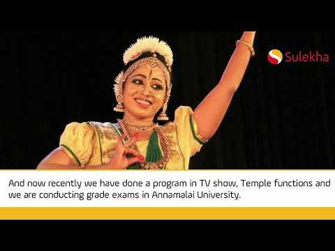 Bharatanatyam Dance Classes in Chennai, Learn Bharatham Dancing