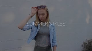 SUMMER LOOKBOOK | FEAT. PAIGE MEREDITH