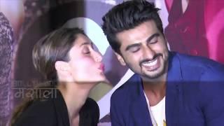 Kareena Kapoor Arjun Kapoor Hot Scene In Ji Huzoori Song Video