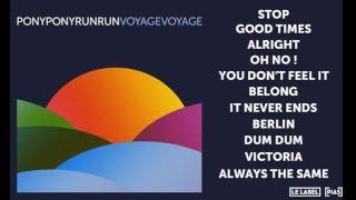 Pony Pony Run Run - Alright (Official Audio)