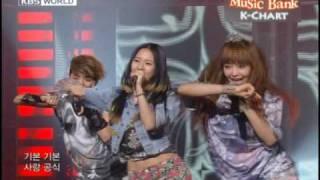 [K-Chart] 6. [▼2] NU ABO - f(x) (2010.5.21 / Music Bank)