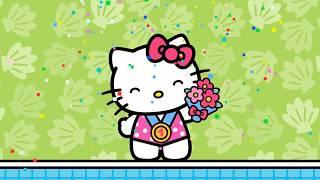 Salto de trampolín | El Mundo de Hello Kitty