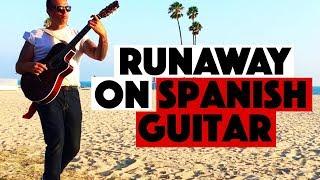 RUNAWAY (Del Shannon) - Ben Woods - Solo Guitar
