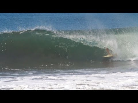 Holly Beck Barreled in North Nicaragua