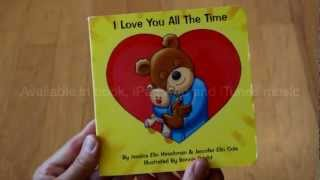 I Love You All The Time - children's book, iPad App & song