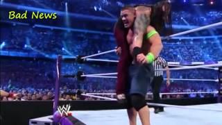 John Cena vs Bray Wyatt at Wrestlemania 30.