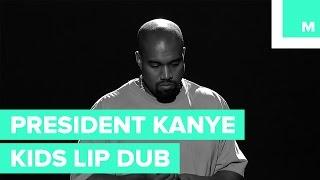 Kanye West for President 2020 | Kids Lip Dub