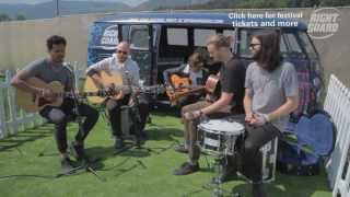 The Temper Trap - Everybody Leaves In The End - exclusively for OFF GUARD GIGS - RockNess 2013