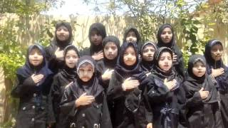 Dar uz zehra poem BY ALIPUR GIRLS