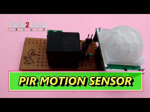 Download thumbnail for PIR Motion Sensor,simple electronic projects