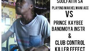 Playing makhelwani accapella vs prince kaybee banomoya instr & club control