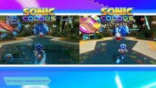 "Sonic Colors: Ultimate - \""HD Updates\"" spotlight trailer"