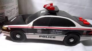 Viatura Carro de Policia Americana Som Sirene